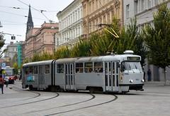 Brno, Joštova 21.10.2016 (The STB) Tags: brno tram tramway strassenbahn strasenbahn tranvía tramvaj tramvaje tramvajovádopravavbrně tatra tatrawagen čkd českomoravskákolbendaněk