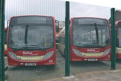 Halton Transport 68 YX62BNB & 70 YX62BNU (Will Swain) Tags: widnes 12th march 2017 halton borough transport bus buses travel uk britain vehicle vehicles county country england english north west town 68 yx62bnb 70 yx62bnu