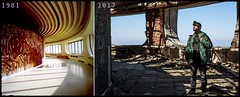 Yesterday and Today (Adolfo Torres) Tags: urbex abandoned decay old buzludzha