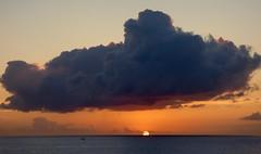 Sunset Soufriere Bay
