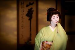 Geiko_20170319_12_5 (kyoto flower) Tags: nijyojinya kimiaya kyoto maiko 20170319 舞妓 二条陣屋 君綾 京都 geiko 芸妓 mait