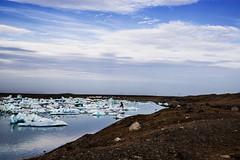 Iceberg lake (Vivid Silence) Tags: jökulsarlon iceberglagoon iceberg water sea atlantic ocean glacier iceland island ice landscape nature beautiful wilderness