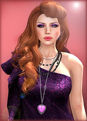 Ginger Snaps - Truth Model Search (Ginger Krokus) Tags: fashion hair clothing model truth mesh sl secondlife gingersnaps ikon styling chelle maitreya rozena truthhawks truthhair glamaffair gingerkrokus maxigossamer truthmodelsearch