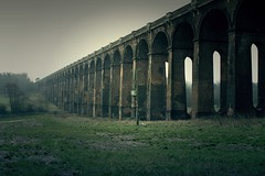 Viaduct Haunted (muchacho200735) Tags: wedding summer model westsussex viaduct balcombe 2470mm 2470 balcombeviaduct modellingshoot