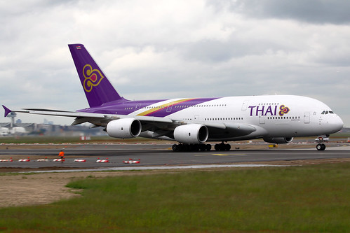 "Thai Airways International Airbus A380-841 HS-TUA ""Si Rattana"" FRA 22-05-13"