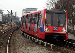 Docklands Light Railway  70 (chrisbell50000) Tags: light favorite london train rail railway docklands favourite 70 dlr chrisbellphotocom