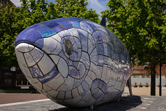 Big Fish - Belfast (jon lees - pram pushing photography only...) Tags: art canon belfast northernireland stm 40mm f28 bigfish ef40stm
