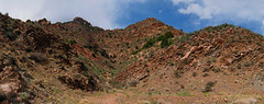Pano: Looks Like Phoenix (ethanbeute) Tags: city family sky panorama water clouds canon river outdoors colorado cloudy walk pano panoramic canyon hike photomerge easy arkansasriver canoncity canyoncity tunneldrive easyhike