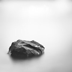 152/365 Rock (fridayloco) Tags: lake water rock washington nikon long exposure 110 nd d600 nd110