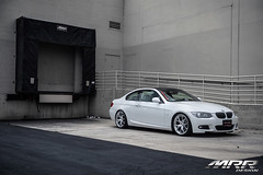 BMW_328i_MRR_GT8_WHEELS_HS_01 (MRR WHEELS) Tags: white silver wheels tires bmw rims e90 328i