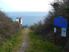 Charlestown National Coastwatch Institute (Worthing Wanderer) Tags: sunshine coast seaside spring cornwall path beaches april charlestown southwestcoastpath