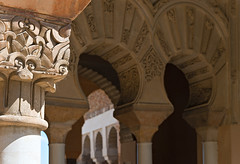 Arches (Dmitry Shakin) Tags: spain arch palace andalucia column malaga