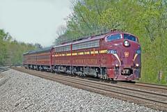 PRR E8s 5-8-11 (LDCJr) Tags: otis indiana railroads