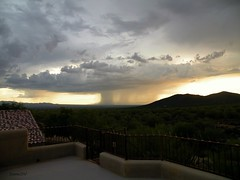 Monsoon Storm (ScenicSW) Tags: sunset arizona storm southwest clouds nikon tucson dramatic explore monsoon sonorandesert cloudscapes tucsonarizona avravalley arizonasky tucsonmountains weatherphotography platinumheartaward southwestsunset scenicsw virtualjourney