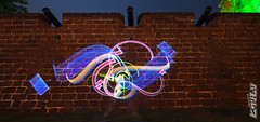 THE 3REE TWINS (biszign) Tags: lightpainting malaysia  calligraphy lightgraffiti jawi khat lighttagging  biszign hikarimoji