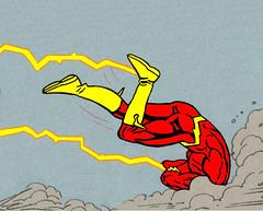 The Flash (  The Flash  ) Tags: dc hurt comic captured hero superhero beaten destroyed justiceleague injured theflash barryallen wallywest scarletspeedster speedforce fastestmanalive crimsoncomet