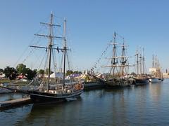 Tall Ships (meohmy911) Tags: water wisconsin boat sailing ship greenbay mast tallship