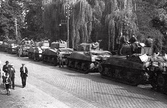 British Shermans-Veghel Holland  Sep44 (DREADNOUGHT2003) Tags: wwii shermantanks bliztkreig armouredwarfare