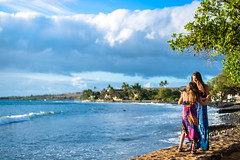 at the shoreline (ogr) Tags: travel 50mm hawaii nikon maui nikkor fx d600 f14d aiafnikkor50mmf14d