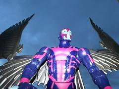 Archangel (spikeybwoy - Chris Kemp) Tags: metal angel wings apocalypse xmen hero superhero marvel archangel marvelcomics horseman