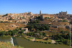 Toledo (Spain) (baddoguy) Tags: toledo spainandalusiaworldheritageunescoancientarchitecturetraveldestinationscityscaperiver