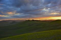 Sunset in the crete senesi (Antonio Cinotti ) Tags: sunset italy clouds nikon italia tramonto nuvole day cloudy country hills tuscany crete siena toscana colline cretesenesi asciano leonina abigfave nikond7100