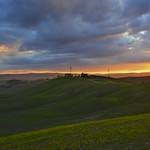 Sunset in the crete senesi thumbnail