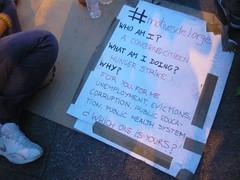 PANCARTA EN INGLÉS MOTIVOS DE JORGE 18O#232 (Jül2001) Tags: protest revolution revolución politica puertadelsol 15m manifestaciones protestas spanishrevolution 15mayo huelgadehambre movimientossociales indignados acampadasol actoreivindicativa motivosdealex motivosdejorge
