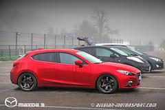 Mazda 3 (2014 spec) (belgian.motorsport) Tags: 3 photoshop mazda tuning volk mazda3 axela 2014 te37