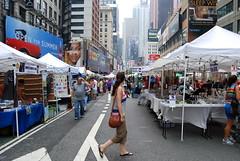 NYC - 52nd & Broadway (irisyeonhwalee) Tags: city nyc newyorkcity urban ny newyork market broadway