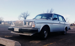 1984 Volvo 244 GLE (dave_7) Tags: car volvo mine 1984 gle 240 244