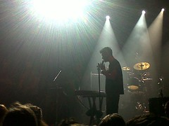 Dan Smith from Bastille!:D (Anna Finlayson) Tags: wood chris music streets london dan night lost fire blood do singing you drum live daniel den bad band smith firework things we will silence what simmons kit these icarus would bastille koko oblivion overjoyed novemeber flaws 2013 farquarson lastfm:event=3667639