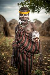 Mursi TribeMursi Tribe (carbajo.sergio) Tags: africa portrait people nikon ethiopia tribe mursi d600 saylluiiis