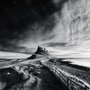 Lindisfarne Castle, Holy Island (Alistair Bennett) Tags: seascape castle sunrise mono coast rocks shadows northumberland holyisland lindisfarne canonef1740mmƒ4lusm gnd075he