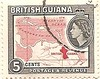 British Guiana stamp: map of the Guianas and the Caribbean (sftrajan) Tags: briefmarke 邮票 डाकटिकट britishguiana colonial philately postagestamp stamp timbre southamerica sello почтоваямарка филателия postagestamps 郵便趣味 timbreposte sellopostal 切手 philatélie filatelia philatelie