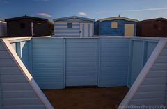 Beach Huts (sarahOphoto) Tags: wood uk sea england beach sand unitedkingdom painted united steps kingdom huts essex frinton groins frintononsea