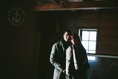 Krista + Dayton (DavinG.) Tags: winter love barn canon 50mm engagement couple farm krista dayton vegreville gegolick 5dmk3 davingphotography