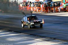 Peugeot 205 (SrgioGonalves@Fotografia) Tags: auto classic portugal car canon tdi drag smoke racing turbo da santarm 7d hi gti tuning 70200 mundo peugeot exhaust 205 boost ftima xad picaria