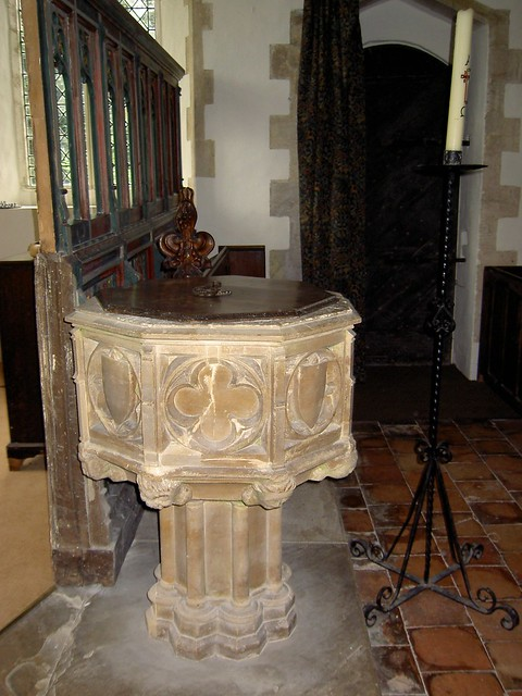 Font_All_Saints_Old_Buckenham