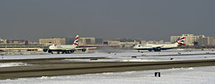 A matched Pair (in Explore 2014 02 14) (MIDEXJET (Thank you for over 2 million views!)) Tags: chicago chicagoillinois ohare chicagoohare ohareinternational airport ord kord britishairways boeing boeing747 boeing747400 boeing7478f illinois unitedstatesofamerica boeingcommercialaircraft boeingcommercialairplanecompany chooseohare fly2ohare flyohare
