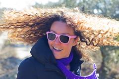 Celia (ngel Cano Ydez) Tags: portrait sun sol hair happy movement retrato happiness sunny movimiento curly felicidad rizos pelo