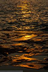 Sunset at Hersonissos (Durnberger) Tags: art coast crete greece hersonissos landscape nature places reflection scenes sea seaside sky sun sunset