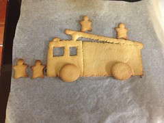 Fire Engine Cookie