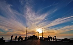 Oceanside Pier - Explored (Photography Peter101) Tags: ocean sunset nature canon