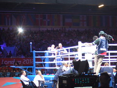 ...NicOla Adams Vs. Mc Mary KOm... (project:2501) Tags: london2012 womensboxing olympicboxing flyweight xxxolympiad womensolympicboxing nicolaadamsvsmcmarykom