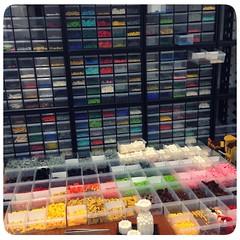 Preparing for Exhibition (inanoblock) Tags: chris lego bricks exhibition blocks custom build kawada nanoblock  nanoblocks