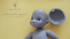 Helianth prototype (SephieDollShop) Tags: doll thank prototype tiny bjd muñeco prototipo helianth sephiedollshop