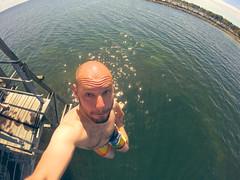 Jumps p sneglen (magnifik) Tags: hero kbenhavn amb amager badning gopro pederene sneglen