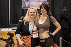 Cece & Monika Lee (_Codename_) Tags: calgary expo cosplay laracroft alberta cecilia tombraider comicon 2014 monikalee comicentertainment