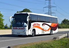 DT06 EBT: Eddie Brown, Thorp Arch (chucklebuster) Tags: brown volvo eddie panther plaxton b12m